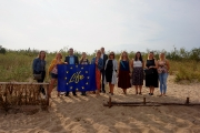 05.09.2019. Latvijas LIFE projektu programmas tīklošanas pasākums - LIFECoHaBit projekta pirmie rezultāti Mangaļsalā